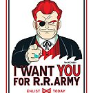 Commander Red Wants YOU! by thom2maro