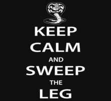 Keep Calm and Sweep the Leg by buzatron