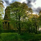 Saltaire United reformed church & canal by Jason Feather