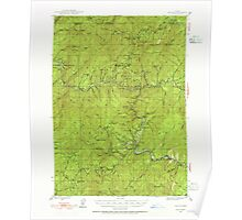USGS Topo Map Oregon Galice 282512 1946 62500 Poster
