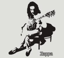 Frank Zappa by HIGGZY