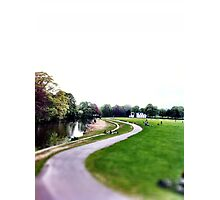 River Aire & Salts park Photographic Print