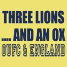 Oxford United Three Lions & An Ox by DopperDesigns