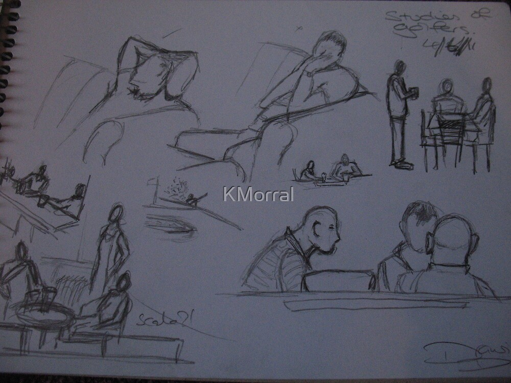 Drawing day at work by KMorral