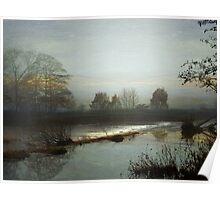 Misty Dawn Poster
