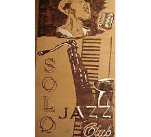 Solo Jazz Photographic Print
