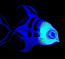 Tropical Fish  by M.S. Photography/Art