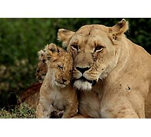 Out of Africa - Hello Mum Photographic Print
