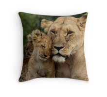 Out of Africa - Hello Mum Throw Pillow