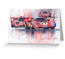 Ferrari 512 S 1970 24 Hours of Daytona Greeting Card
