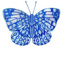 Butterfly Series 05 by Jazmine Phillips