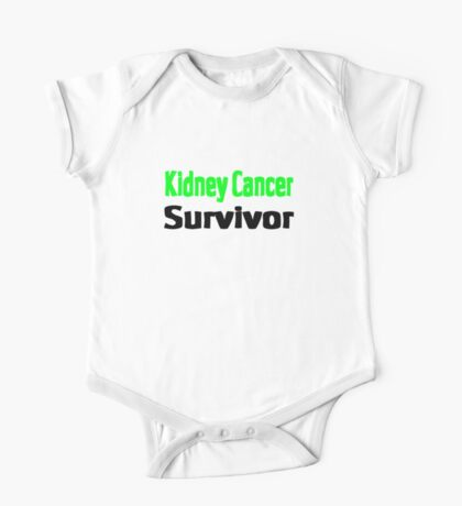 Kidney Cancer One Piece - Short Sleeve