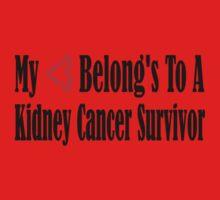 Kidney Cancer One Piece - Short Sleeve