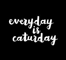 Caturday | Hand Lettered I by meandthemoon