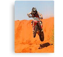 Bike 552 - Finke 2011 Day 2 Canvas Print