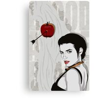 Blood Apple Canvas Print