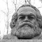 Karl Marx Tomb- Black and White by PhotosbyDrJ