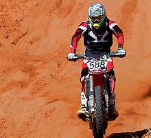 Bike 588 - Finke 2011 Day 2 by Centralian Images
