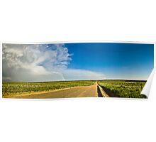 Road to the End - Sedgwick County, CO Poster