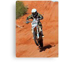 Bike X80 - Finke 2011 Day 2 Canvas Print