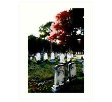 Birth of a Graveyard (Part 2 of 3)-Maine Art Print