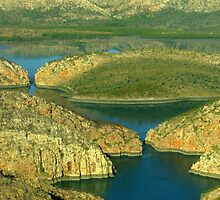 Horizontal Falls, Western Australia by Julia Harwood