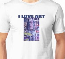 I Love Art Unisex T-Shirt