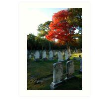 Birth of a Graveyard (Part 3 of 3)-Maine Art Print