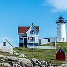Nubble Light House, York, ME by Linda Gregory