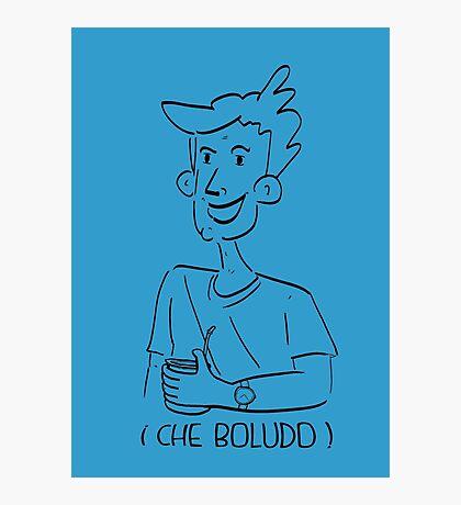 Los boludos toman mate Photographic Print