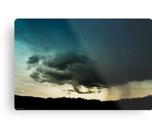 Storm Over Stoney Indian Reserve Metal Print