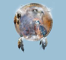 Dream Catcher - Spirit Of The Hawk Unisex T-Shirt