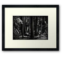 Midnight Grotto Framed Print