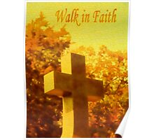 Live By Faith Not By Sight Poster
