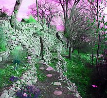 Terraced Garden Fantasy 4 by Lenore Senior