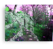 Terraced Garden Fantasy 4 Canvas Print