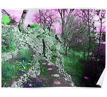 Terraced Garden Fantasy 4 Poster