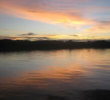 Sunset on the Amazon by pjp500
