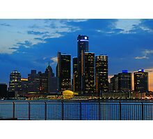 Evening in the City Photographic Print