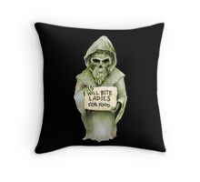 Undead Templar (Homeless) Throw Pillow