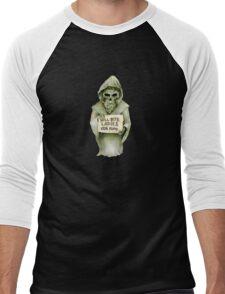 Undead Templar (Homeless) Men's Baseball ¾ T-Shirt