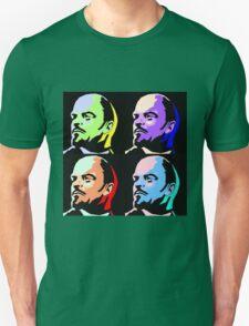 V I Lenin Pop Art Unisex T-Shirt
