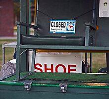 The Shoe Shine Stand by Buckwhite