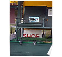 The Shoe Shine Stand Poster