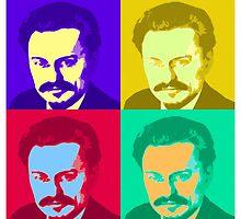 Leon Trotsky Pop Art by Chunga