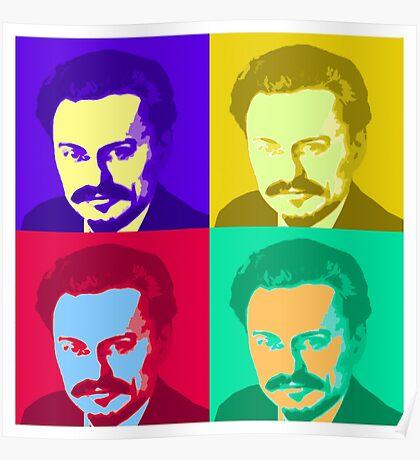 Leon Trotsky Pop Art Poster