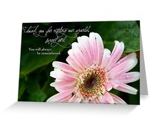 Thank You For Visiting Our World Greeting Card
