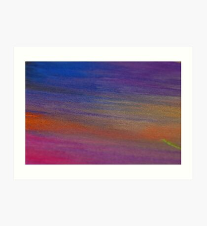 Chalk Art Abstract Art Print