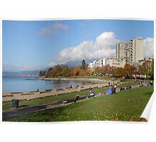 English Beach, Vancouver City, Canada  Poster