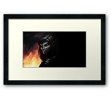 Skyrim Dark Elf Framed Print